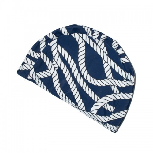 NAUTICAL ROPE SWIM CAP